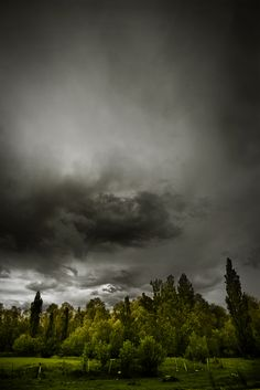 Landscapes by Diego Berro , via Behance