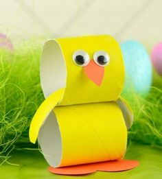 24 ideas about Toilet Paper Roll Crafts Toddler Art Projects, Diy Projects For Kids, Crafty Projects, Diy For Kids, Spring Activities, Creative Activities, Creative Crafts, Creative Ideas, Toilet Paper Roll Crafts