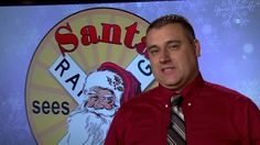 A tradition nearly three quarters of a century old. Join the EKB News crew as they take a look at a holiday tradition in the mountains, the annual CSX S. Christmas Adverts, See Ya, Holiday Traditions, Santa, Train, Baseball Cards, News, Strollers
