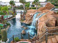 Awesome miniature golf course!