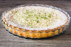 Torta caprese in bianco Tartelette, No Cook Desserts, Vanilla Cake, Sweet Recipes, Muffin, Dinner, Cooking, Breakfast, Estate