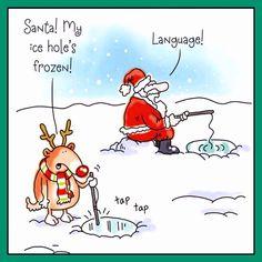 Funny Christmas Cartoons, Christmas Comics, Funny Cartoons, Christmas Humor, Funny Comics, Christmas Fun, Funny Jokes, Hilarious, Holiday Fun