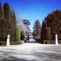 Parque de El Capricho en Madrid, Madrid