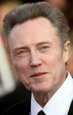 Christopher Walken....just something about him...his face has character.
