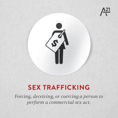 DID YOU KNOW: Sex trafficking is one of the main forms of human trafficking? Education = prevention of modern-day slavery as we work to rescue, restore and rebuild lives together.