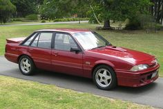 "This is Holdens Peter Brock HDT VL ""SS"" Commodore with a factory worked 4.9ltr (304c/in) engine, sports exhaust system, a much sportier FE2 suspension package over standard and sports trim package including Momo wheels/steering wheel and a body kit."