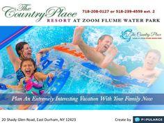Are your family members insisting you to plan Fun Vacation ?Or you want to spend quality time with your spouse at some amazing vacation destination.Give a ring to us at our number 718-208-0127 to enquire best vacation deals at the country place resort. Zoom Flume Water Park, forest walk, parties and special events organized here will fill your heart with complete fun. So, do it fast and book the resort now. https://www.thecountryplace.com/