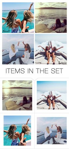 """""""You and your best friend on a boat"""" by xcuteniallx ❤ liked on Polyvore featuring art"""