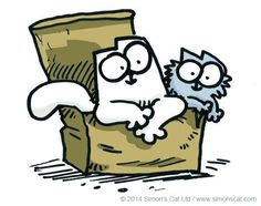"""Sign up to our mailing list to be kept up to date with exciting Simon's Cat news!"""