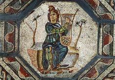 ORPHEUS CHARMING ANIMALS Orpheus Charming the Animals (mosaic), Roman, (2nd century AD) Musee Archeologique, Saint-Roman-en-Gal, France Giraudon