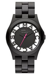 MARC BY MARC JACOBS 'Henry Skeleton' Automatic Watch. http://shop.nordstrom.com