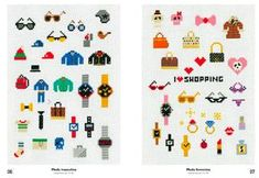 El producto Mega mini punto de cruz por Makoto Oozu lo vende Duduá en nuestra tienda Tictail. Tictail te permite crear gratis bonitas tiendas en línea - tictail.com Makoto, Mini Cross Stitch, Dental, Kids Rugs, Diy, Decor, Punto De Cruz, Tents, Create