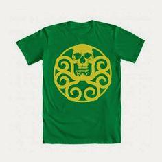 "WeLoveFine ""Hydra Logo"" #AgentsofSHIELD #HailHydra #CaptainAmerica (@WeLoveFine .com)"