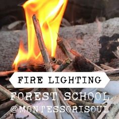 Lighting fires the forest school way! I have learnt alot in my forest school training. Who knew that you could use pixie pillows (cotton wool), dragons snot (vaseline, although this wasn't a…