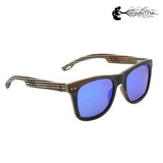 351b9d3125e2 Wayback Wayfarer - Blue. Blue SunglassesWood ...