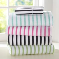 Simple Stripe Favorite Tee Sheet Set. All about the comfort (: