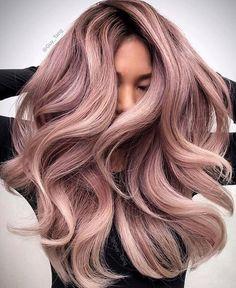 Bayalage Haarfarbe Ideen für 2018