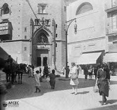 Barcelona, Santa Maria del Mar entre 1920 i 1930.