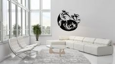 Taoism (Daoism) Symbol Yin and Yang Dragon Wall Vinyl Decal Art Sticker Home Modern Stylish Interior Decor for Any Room Smooth and Flat Surfaces Housewares Murals Window Graphic Bedroom Living Room (3659) stickergraphics http://www.amazon.com/dp/B00IFEO91Y/ref=cm_sw_r_pi_dp_PEpWtb0EHCZ32PVT