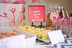 @Tisah Leigh- can you host this party when we are grown up?  mom and daughter yoga party