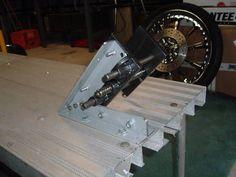 Afbeeldingsresultaat voor garage lift motorcycle build-in