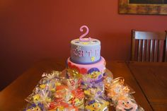 Sid the Science kid cake & cookies