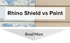 Rhino Shield ceramic coatings are far superior to paint for many reasons. We encourage you to see the difference for yourself.