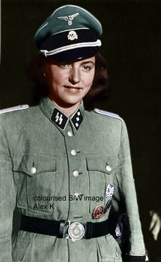 49 best Girls Germany WWII images | German women, Military