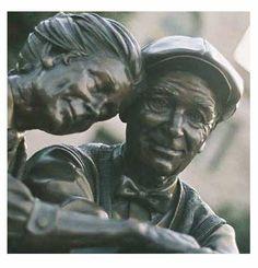 Valentine Sculpture in Decatur GA - a sweet one.