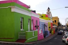 Also known as South Africa's Mother City, Cape Town is a large city with a complex history. Take a look at Cape Town in photos. Cape Town, Great Places, Places To Visit, Amazing Places, The Bo, Africa Travel, Beautiful Buildings, Color Change, South Africa
