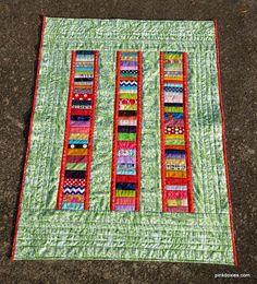 Julie Stocker Quilts at Pink Doxies Quilting Projects, Sewing Projects, Quilt As You Go, Scrap, Kids Rugs, Quilts, Blanket, Pink, September