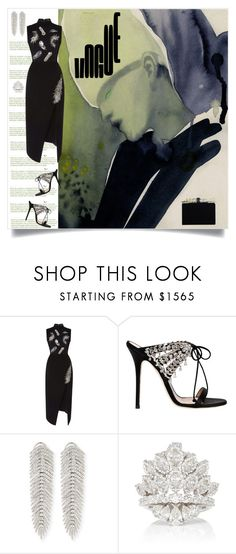 """Vogue"" by shoecraycray ❤ liked on Polyvore featuring Giuseppe Zanotti, Sutra and Edie Parker"