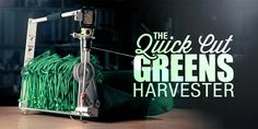 quick cut greens harvester - Google Search