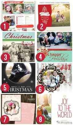 Free Christmas Card Templates  Free Christmas Card Templates