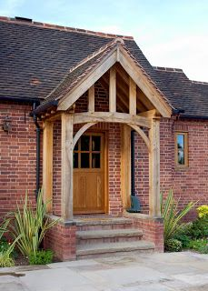 Example of stunning porch