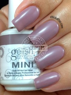 Chickettes.com - Gelish My Nightly Craving Swatch