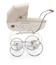 Classica Pram with Diaper Bag in Vanilla (So adorable but SO expensive! $1398.00!) {Rosenberry Rooms}