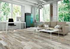 Here is the latest look, hot off the container ship from Spain. Origins full HD Digital porcelain tile distressed barnwood.