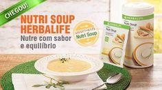 EVS Araguaia - Alphaville: Nutri Soup Herbalife: sopa substitutiva de refeição, com 23 vitaminas e minerais e baixas calorias, vai te ajudar a perder peso de forma saudavel. #herbalife #focoemvidasaudavel #vidaativaesaudavel #nutrisoup