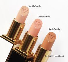 Tom Ford Lipstick: I like the nude lipstick look!