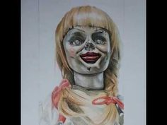 ANNABELLE DRAWING - DRAWING - ART
