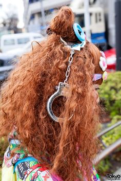 Handcuffs Hair Accessory