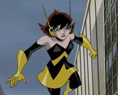 Version of Wasp I want to base my costume on! From The Avengers: Earth's Mightiest Heroes