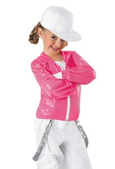 Sequin Hip-Hop Jacket and Pants; Weissman Costumes