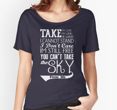 Firefly Theme song quote (white version) by kurticide $26 Redbubble.com
