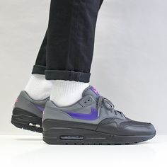 The Latest Shoes, T-Shirts & Shirts at Urban Industry, Eastbourne, UK Latest Shoes, New Shoes, Air Max 1s, Air Max Sneakers, Sneakers Nike, Nike Air Max 90s, Shirt Jacket, T Shirt, Purple And Black