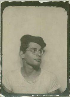 Allen Ginsberg, 1945. Photo via.