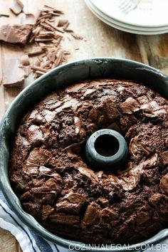 Bolo de chocolate | cozinhalegal.com.br