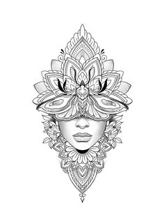 Tattoo Stencil Designs, Card Tattoo Designs, Family Tattoo Designs, Tattoo Stencils, Simple Mandala Tattoo, Geometric Mandala Tattoo, Mandala Tattoo Design, Mandala Tattoo Neck, Line Tattoos