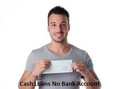If you need instant financial help for your unaccepted cash emergency, so you can apply to #cashloansnobankaccount. With this fund borrower can get money without holding a checking bank account. www.paydayloansnobankaccount.com